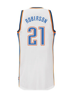 low priced b3883 771d2 21 Andre Roberson jersey Navy blue,white colors,Mens REV 30 ...