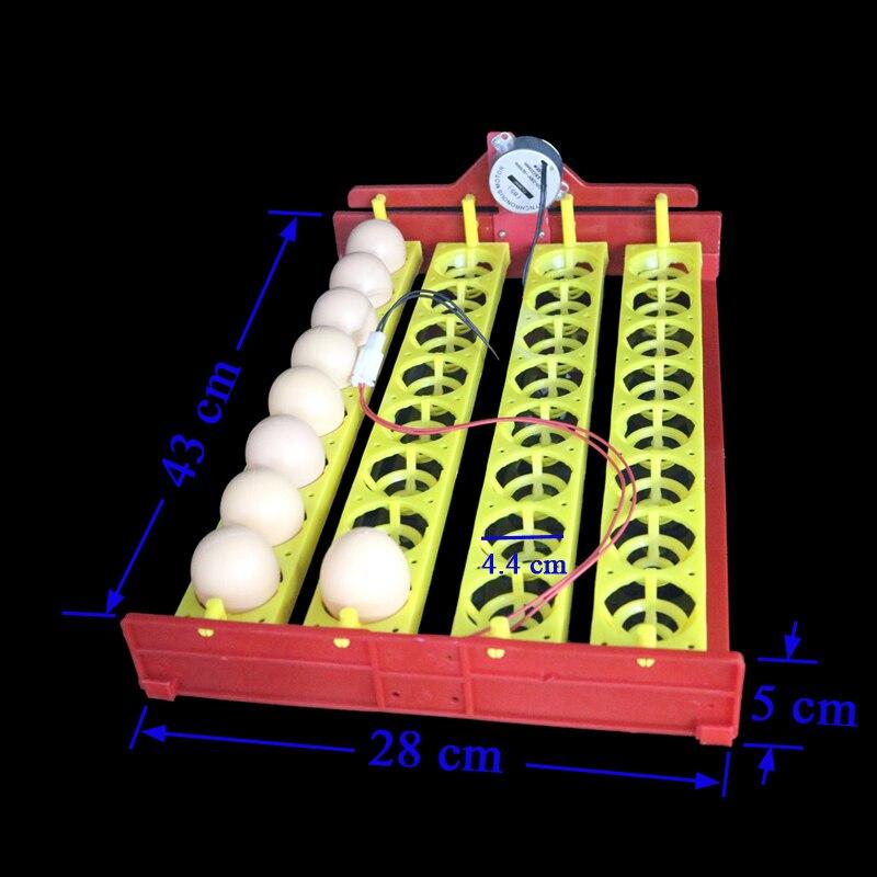 Поворотный лоток на 32 куриных яйца с мотором фото.