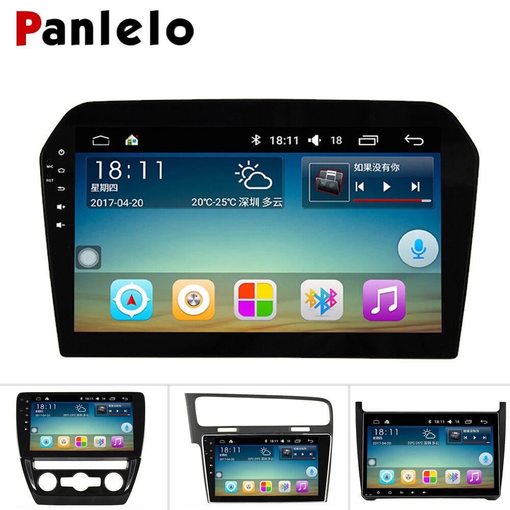 Panlelo pour Volkswagen Passat b6 multimédia 2 Din Android pour Polo Volkswagen 2018 Auto Radio pour Volkswagen Golf 4 5 Navigation