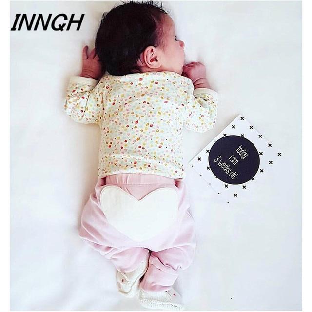 Age0 3 Baby Pants Child Kids Infant Leggings Sleep Newborn Trousers Big Love Animal Butt