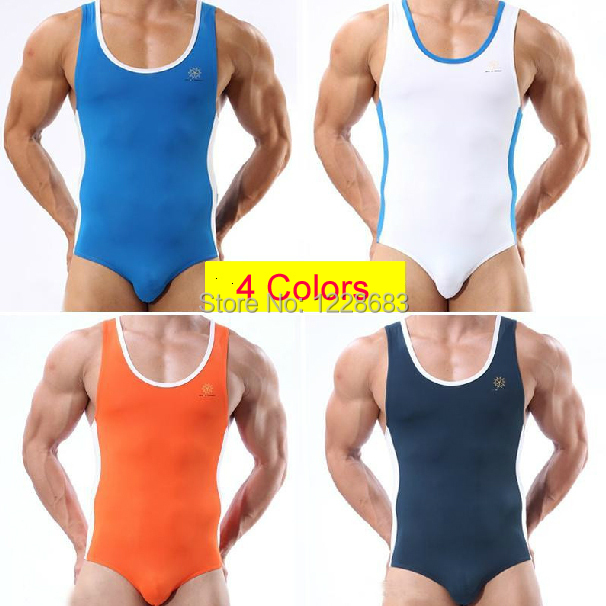 aac0d71b0649b2 Mens Gymnastics Leotards One Piece Jumpsuit Men Aerobics Workout Fitness  Clothing Crossfit Fitness Gym