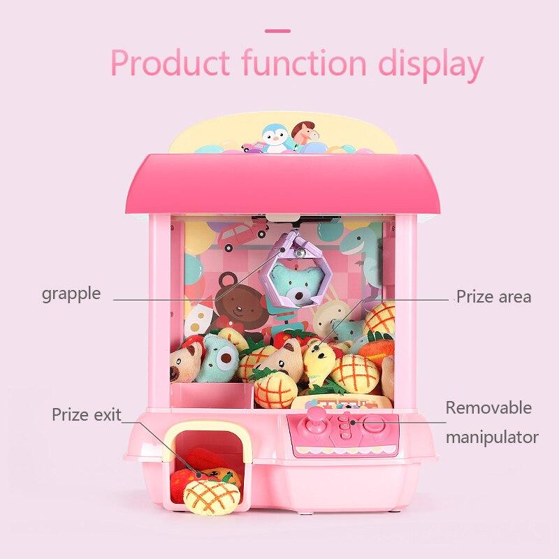 Bricolage poupée Machine Rechargeable électronique attraper maison licorne poupée 12 Mini Mickey musique poupée en peluche Mnimals bébé jouets Lol poupées - 2