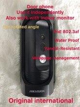 Hikvision DS-KB8112-IM English Version IP Video Intercom Water Proof Vandal-Resistant Door Station H.264 WDR Door Magnetic Alarm