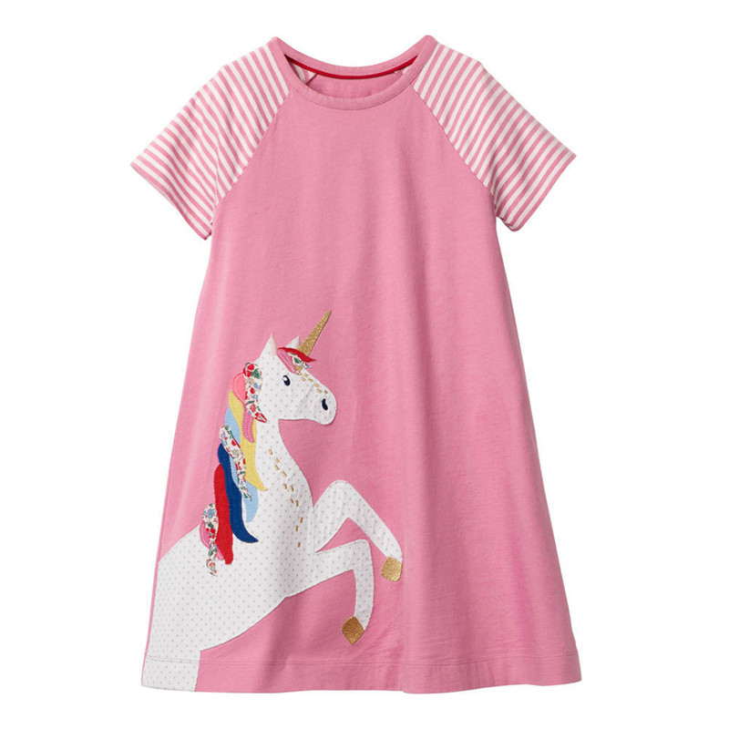 Jumping Meters Cotton Princess Dresses Baby Rainbow Clothing Summer Children 39 s Dress 2019 Costume Kids Girls Dresses for Party in Dresses from Mother amp Kids