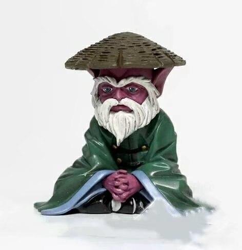 NEW Hot 6cm Saint Seiya Elderly Dohko Action Figure Toys Collection Doll Christmas Gift No Box