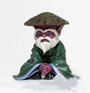 NEW hot 6cm Saint Seiya elderly Dohko Action figure toys collection doll Christmas gift no box(China)