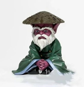 NIEUWE hot 6 cm Saint Seiya ouderen Dohko Action figure speelgoed collectie pop Christmas gift geen doos
