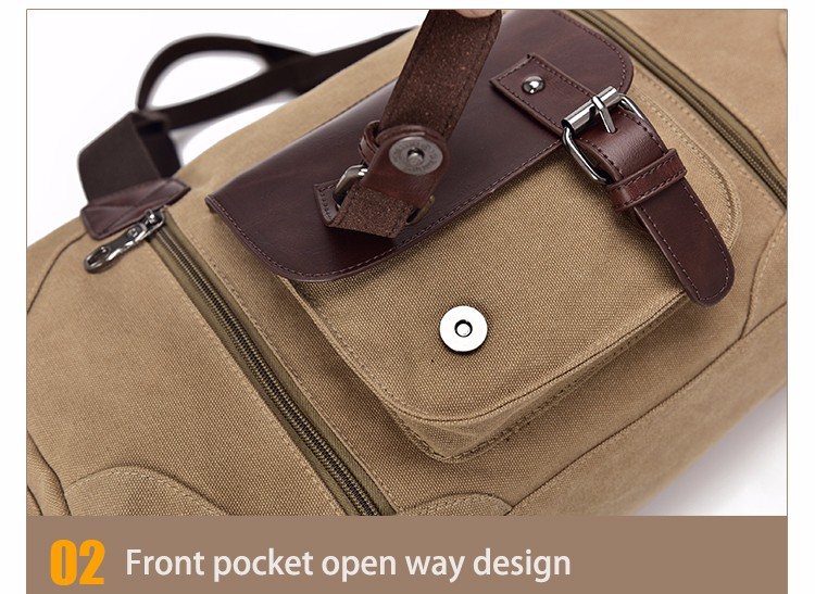 Famous Brand Men Vintage Canvas Men Travel Bags Women Weekend Carry On Luggage & Bags Leisure Duffle Bag Large Capacity Handbags (33)