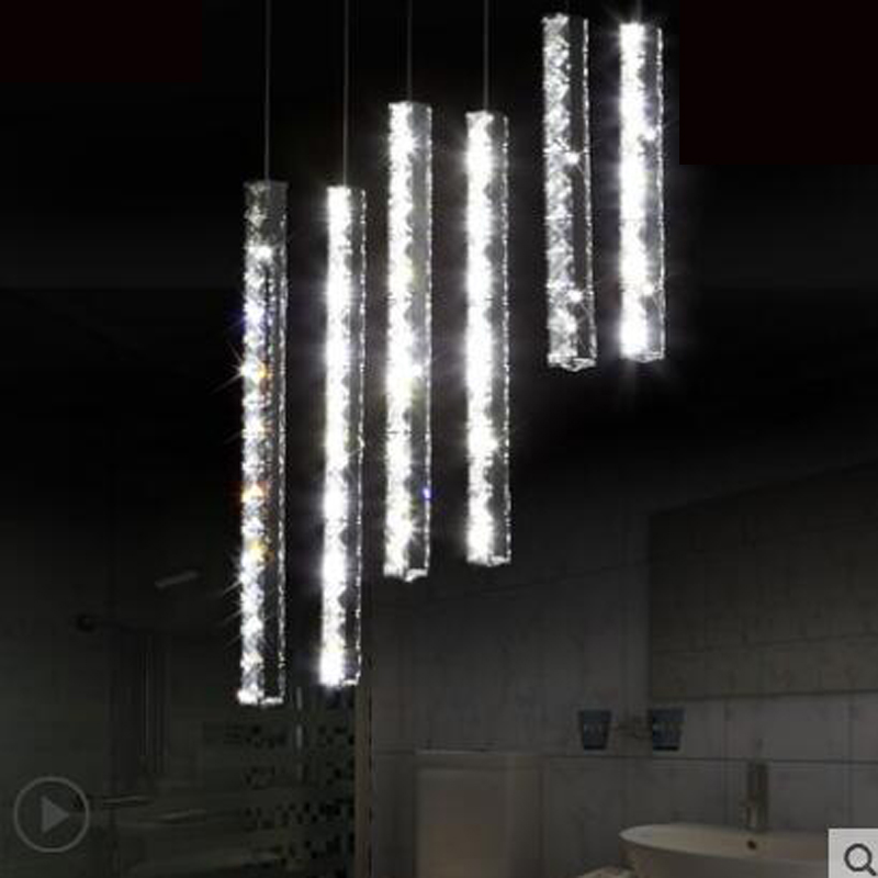 Restaurant lights personality small chandelier creative bar modern minimalist led crystal chandelier dining room lamp home led led modern creative chandelier lights personality seagull chandelier lamp loft bar dining room suspension home decoration design