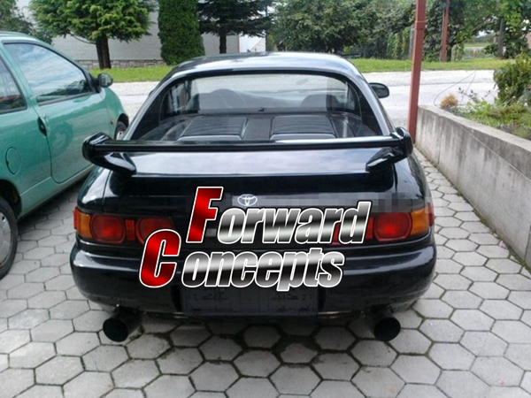 FOR CARBON FIBER 1991-1999 MR2 MR-2 SW20 JDM REAR WING TRUNK - Auto Replacement Parts - Photo 2