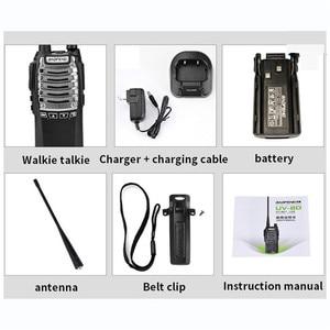 Image 5 - Baofeng General UV 8D walkie talkie 8 W llave de lanzamiento Dual de alta potencia 5 15 KM distancia de comunicación multifunción seguridad intercomunicador
