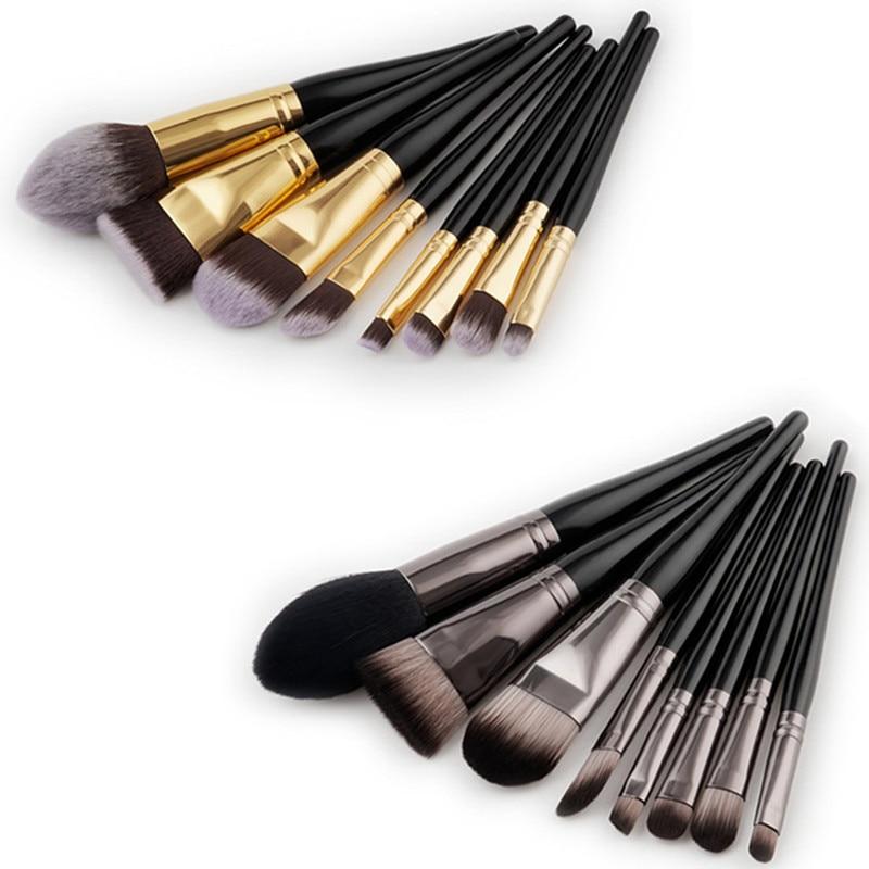 8Pcs Wood Handle Make Up Brush Set Flame Flat Angled Makeup Brush Cleaner Nose Eyeshadow Foundation Brush Kit Beauty Tools дрофа русский язык 7 кл учебник вертикаль