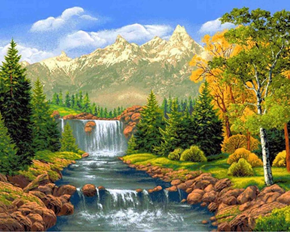 Открытки с пейзажами природы анимация