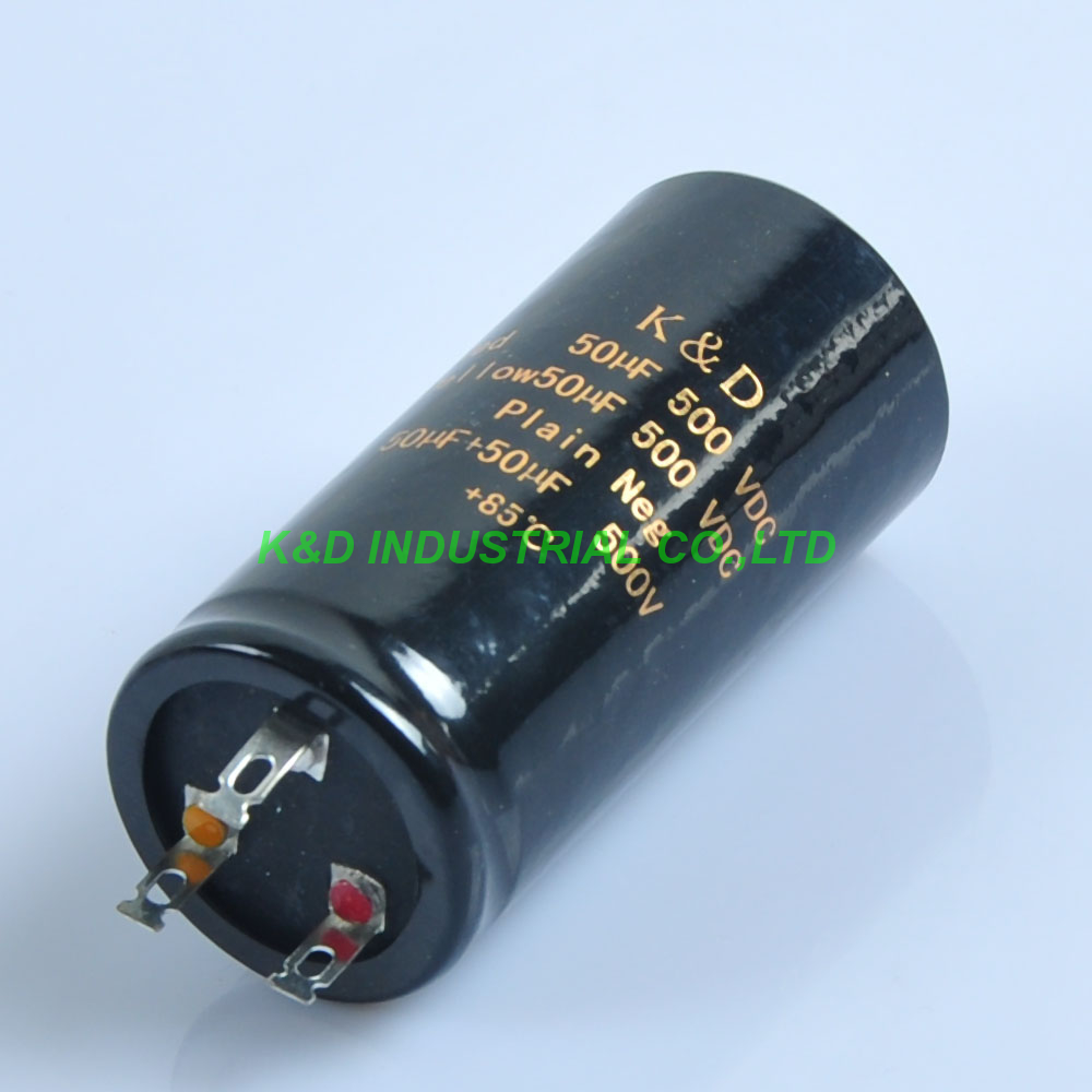 1 pc 34*75mm Pode Eelectrolytic Capacitor uf + 50 50 uf 500 v Amplificador de Guitarra