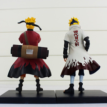 2 Pcs The Konoha's Yellow Collectible Model