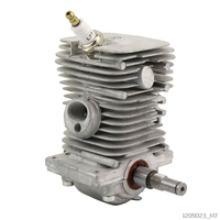 38mm Engine Motor Cylinder Piston Crankshaft Pan Assembly Garden Power Tools Parts for MS170 MS180 018 Chainsaw