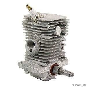 Image 1 - 38mm moteur moteur cylindre Piston vilebrequin Pan assemblage jardin outils électriques pièces pour MS170 MS180 018 tronçonneuse