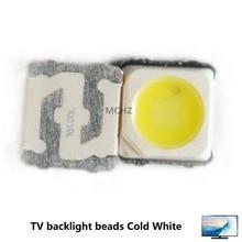 50PCS Samsung 3228 2828 LED SMD TV Backlight 3V 2W 700ma LED Beads Cool White For Samsung SPBWH1320S1EVC1B1B Free Shipping