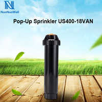 """NuoNuoWell Pop-up Sprinkler 1/2"""" Female Thread Adjustable Scattering Spray Nozzle Garden/Lawn Irrigation Automatic Cleaning"""