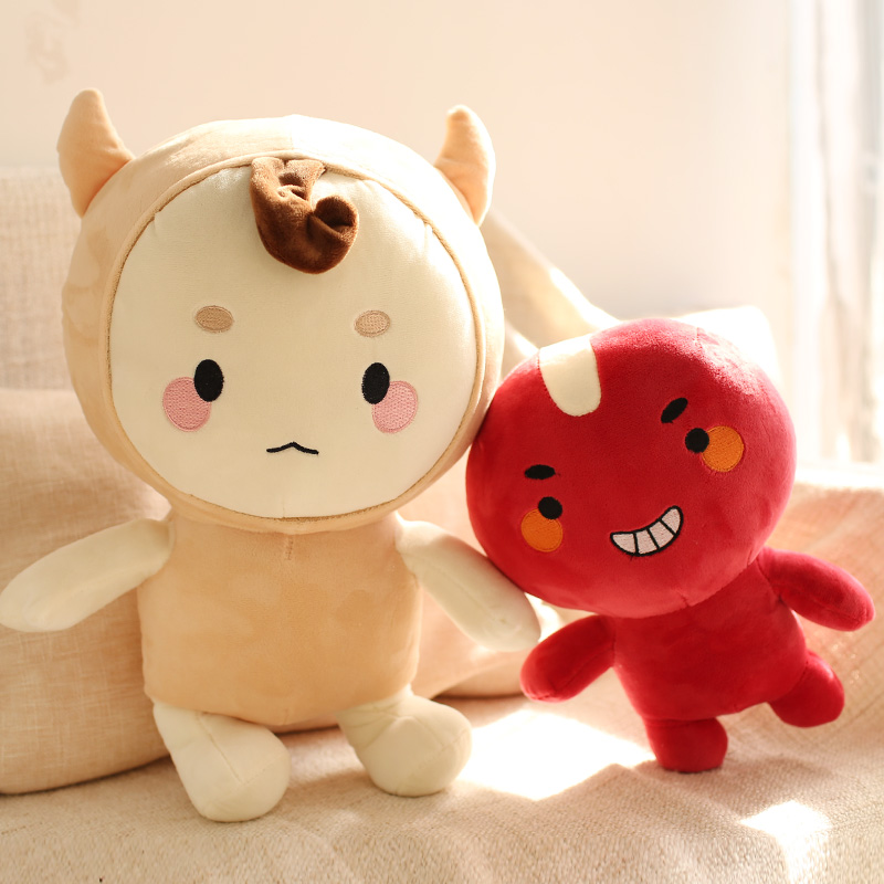 Candice guo plush toy stuffed doll Guardian The Lonely and Great God XDD Boglegel Black Hug South korea TV model lover gift 1pc