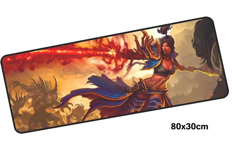 Necromancy mousepad gamer 800x300X3MM gaming mouse pad large Halloween notebook pc accessories laptop padmouse ergonomic mat