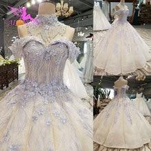 AIJINGYU חתונה שמלות וייטנאם שמלות כלה עם שרוולי מכס Boho הודי שמלת אוקראינה כפרי שמלה