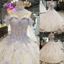 AIJINGYU Wedding Dresses Vietnam Gowns Bride With Sleeves Customs Boho Indian Gown Ukraine Rustic Dress