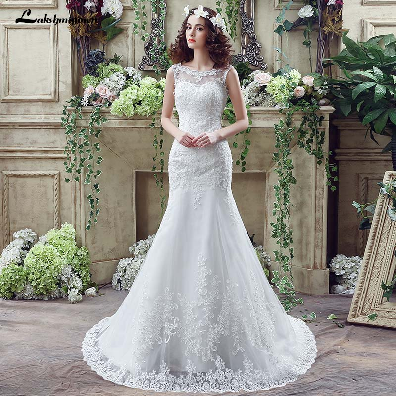 White Lace Mermaid Gown: Aliexpress.com : Buy White Mermaid Lace Beaded Wedding