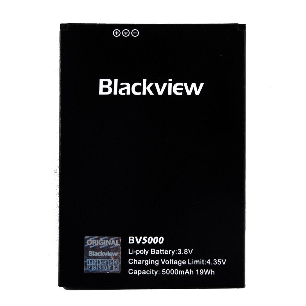 BV5000 jinsuli para Original Blackview Completa Da Bateria 5000 mAh Para Blackview BV5000 Smart Mobile Phone + + Número de Rastreamento + em Estoque