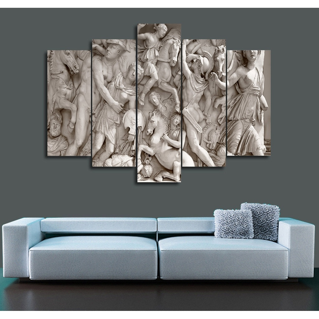 Free Shipping 2017 Hot Frameless Painting Roman Relief