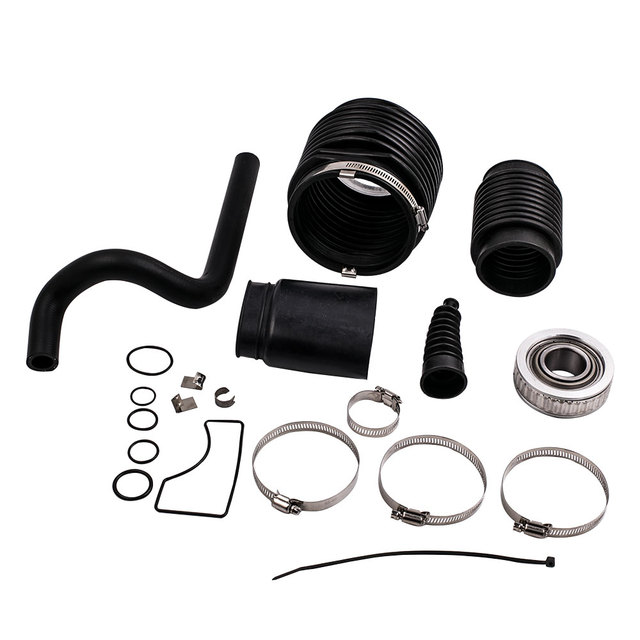 Kit For Mercruiser / Boat Bravo One Two 3 Bellow Transom Seal W/ Water inlet hose