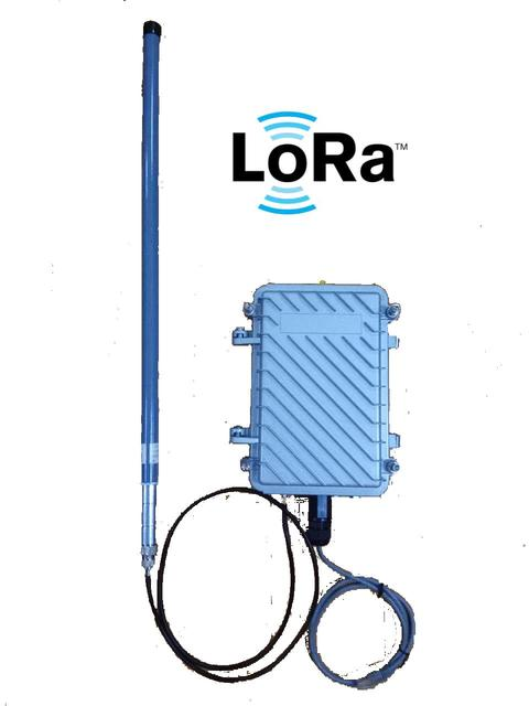 US $1588 88  SX1301 LoRaWAN gateway / base station, industrial class  outdoor waterproof POE/GPS/4G full CNC-in Network Cards from Computer &  Office on