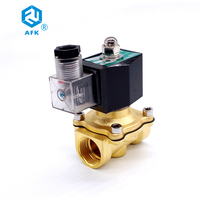 2T 15 1/2 normally closed 220VAC solenoid valve for propane gas