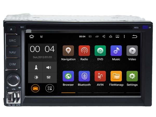 Android 7 1 Car Dvd Navi Player FOR Universal 2 Din audio multimedia auto stereo support