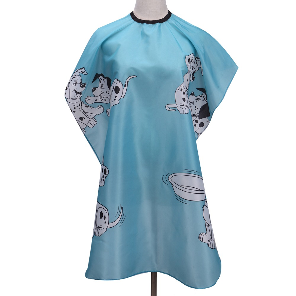 Children Cartoon Hairdressing Waterproof Cloth Kids Hair Cutting Dyeing Barber Manteau Apron Wraps Cloth Pro Salon Styling Tool