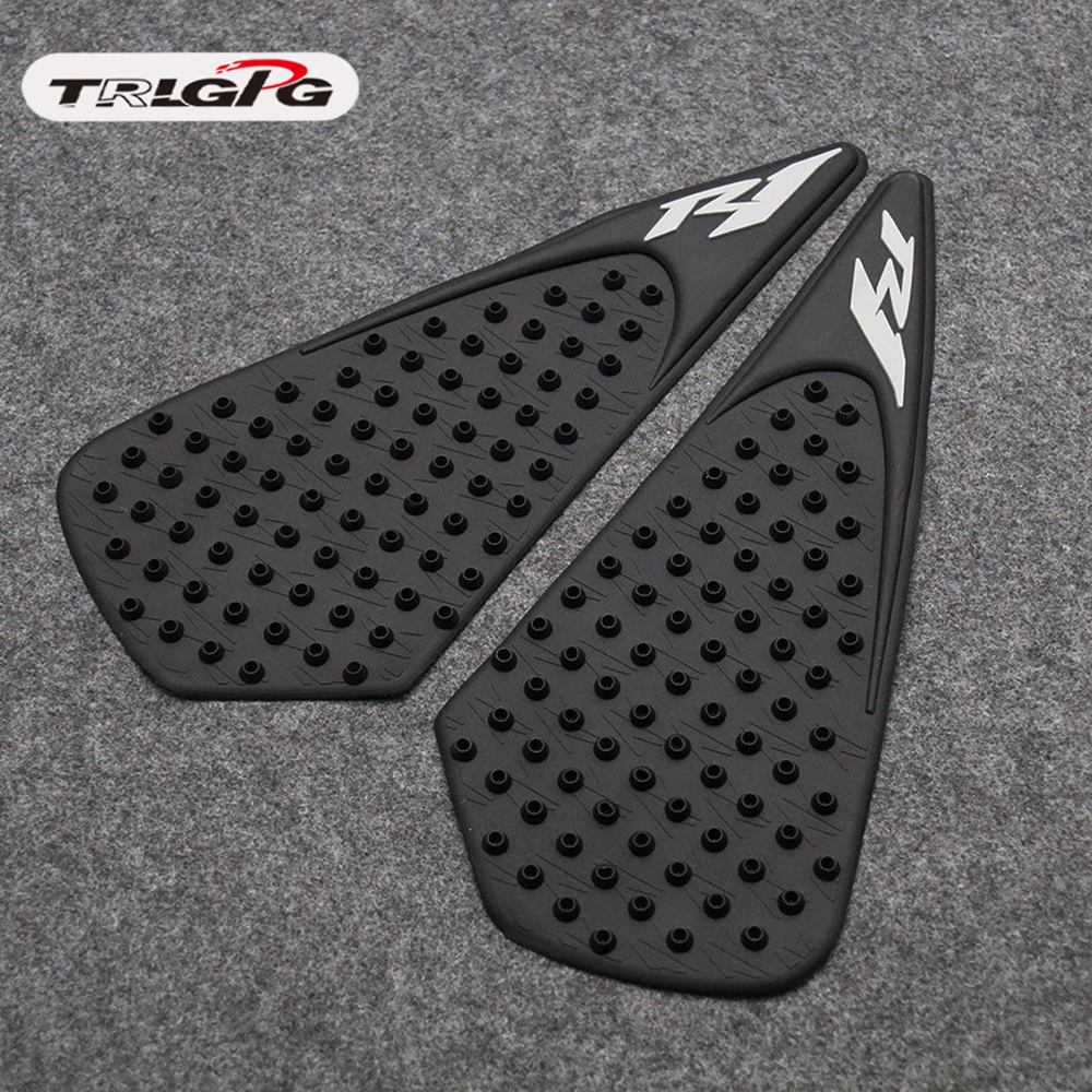For Yamaha YZF <font><b>R1</b></font> 2004 2005 2006 Tank Pad Protector <font><b>Sticker</b></font> Decal Gas Knee Grip Traction Pad Side image