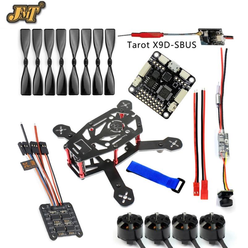 JMT DIY 150MM FPV Racing Drone H150 Frame 4000KV Motor 12A 4 IN 1 ESC 3 Inch Props 8CH Receiver SP Racing F3 Q25 Camera racing wheels h 480 7 0 r16 4x114 3 et40 0 d67 1