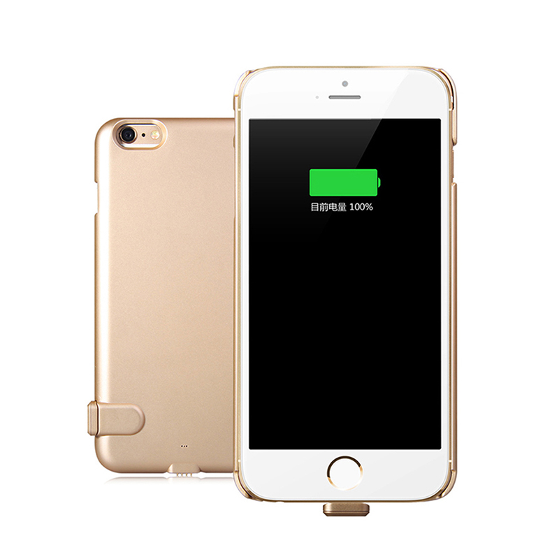 2000mAh 5 5 inch Ultra Thin Phone Case For Iphone 6 Plus 6S Plus External Backup
