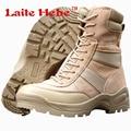 Laite Hebe Botas Militares Delta Botas Tácticas SWAT Combate Americanos Ejército Botas de Invierno de Arranque Del Desierto Zapatos de Senderismo de Los Hombres Size39-44
