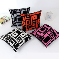 Creative Geometric Pattern Pillow Cover 45*45cm Candy Color Case Home Decorative P-13