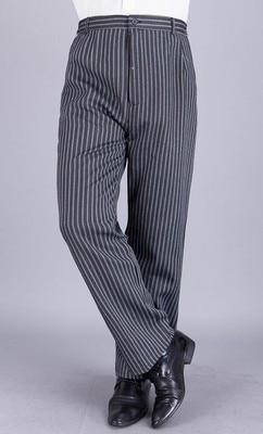 2017 nové hotelové kuchařské služby číšnické kalhoty kuchařské pracovní kalhoty hotelové restaurace uniformy Snadné čištění šéfkuchaře Pruhované kalhoty