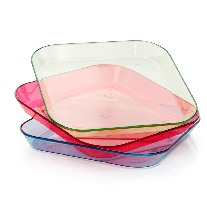 New Plastic Dinner Plates Clear Green Blue Red Snacks Plate Home Kitchen Accessories Party Fruit Sushi Plate Soy Sauce Dish-in Dishes u0026 Plates from Home ...  sc 1 st  AliExpress.com & New Plastic Dinner Plates Clear Green Blue Red Snacks Plate Home ...