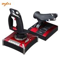 Hot Sale Litestar PXN 2119II Game Flight Joystick Flight Simulation Game Rocker Controller For Lover Computer