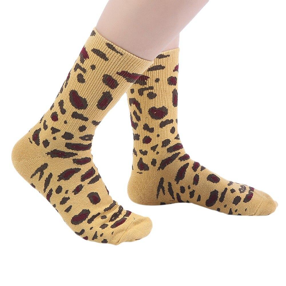 Unisex Cotton Socks Vintage Pearl Leopard Print Autumn Winter Ankle Socks Trend Harajuku funny Socks short warm Xmas Gift #VD107
