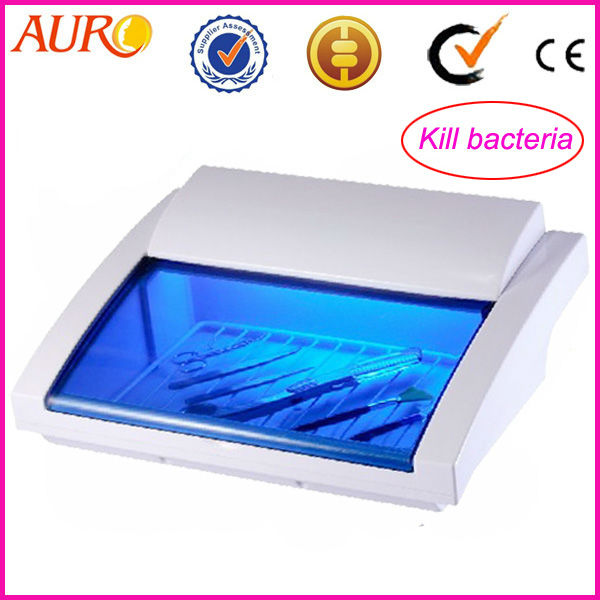 100% Guarantee!! 2017 Spa Hairdressing Equipment Tools Scissors Sterilizer UV Disinfection Cabinet Au-9007 with Free Shipping