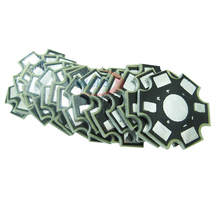 25/500pcs 1w 3w 5w High Power Watt LED Heat Sink Aluminum Base Plate 20 mm board KIT DIY high quality star heatsink