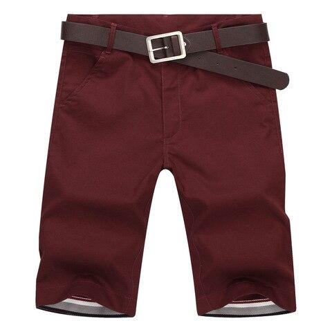 BOLUBAO Brand Men Shorts New Summer Mens Fashion Solid Color Casual Shorts Male Bermuda Shorts( No Belt) Islamabad