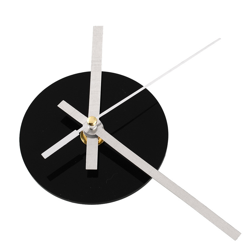 Handy Quartz Wall Clock Accessories Mechanism Movement DIY Repair Parts Wall Clock Replacement Parts Tools Black Drop Shipping