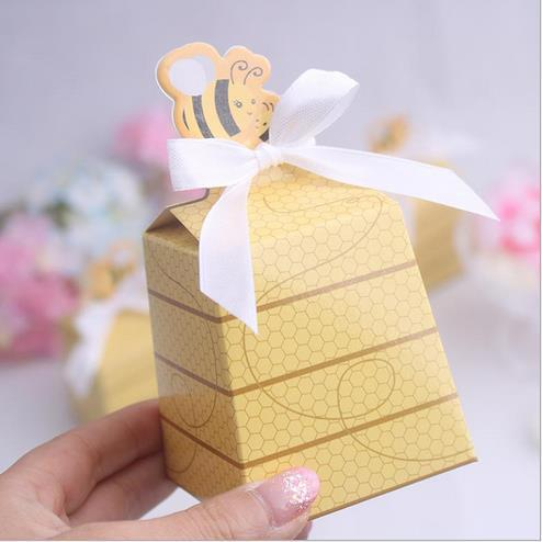 Free Shipping 50 Pcs Cute Sweet As Can Bee Baby Shower