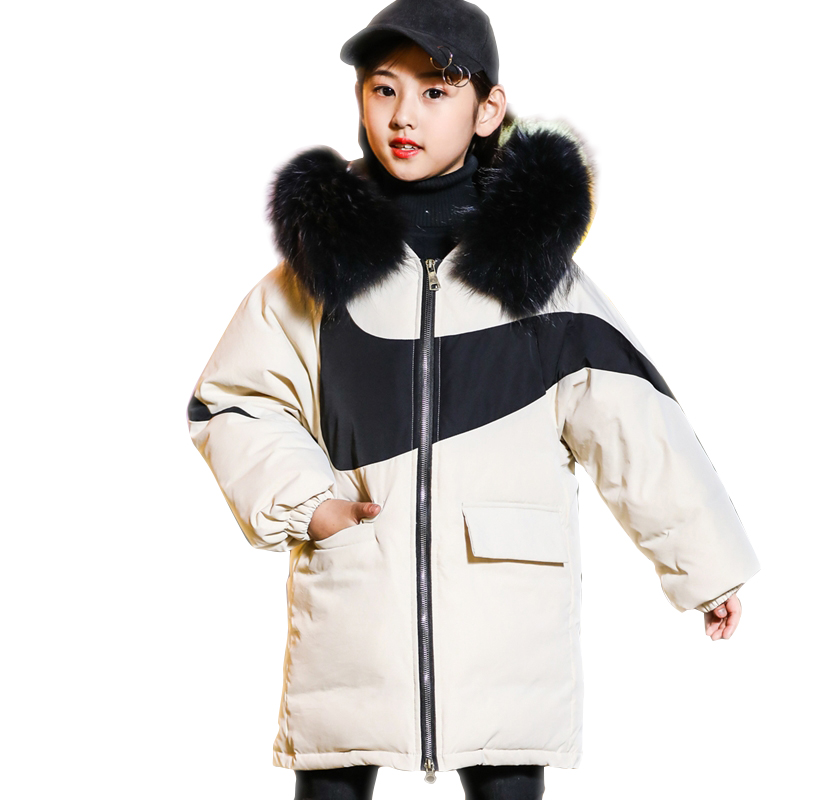 Cold Winter Girls boys Warm Clothes 6-14year children teenagers Coat Thicken Jacket Hooded Xmas Snowsuit collars long OuterwearCold Winter Girls boys Warm Clothes 6-14year children teenagers Coat Thicken Jacket Hooded Xmas Snowsuit collars long Outerwear